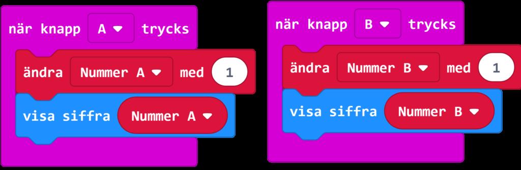 Bild av kodblock